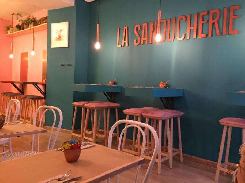 Bocadillos gourmet en LA SANDUCHERIE