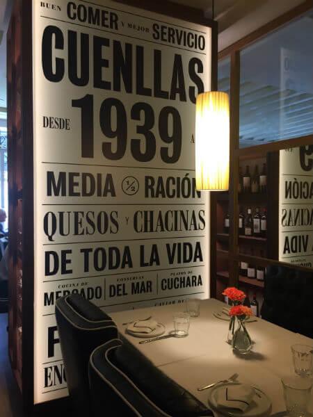 Perfecto para compartir media raci n my places to be - Restaurante cuenllas madrid ...