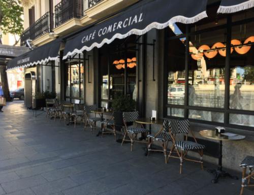 Menú castizo y detalles cool en CAFÉ COMERCIAL