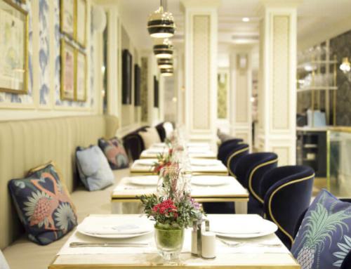 Elegancia parisina en el bistró francés BRASSERIE ANTOINETTE