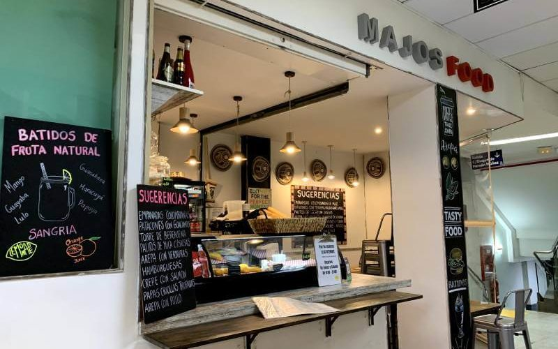 Street food italo-colombiana en MAJO`S FOOD